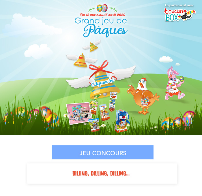 jeu concours - diliing, diliing, diliing